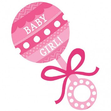 Baby Shower Cutout Baby Girl It S My Party