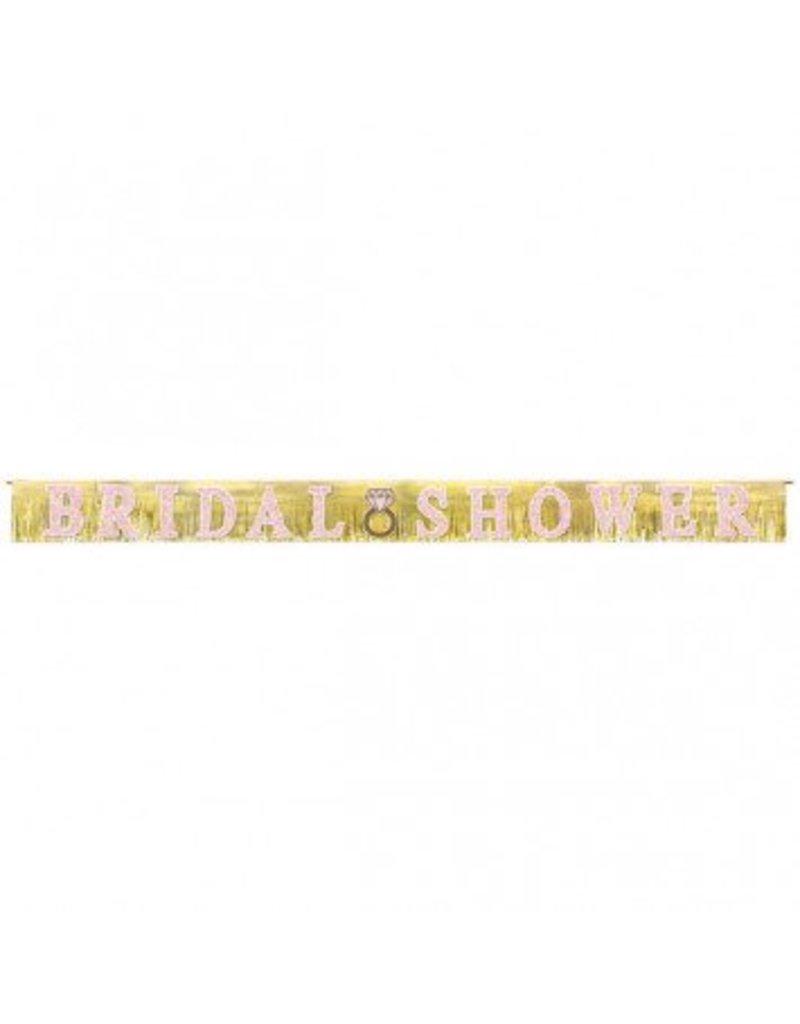 Banner Giant Fringe Bridal Shower