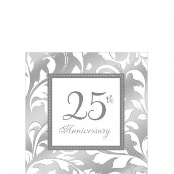 25th Anniversary Beverage Napkin (16)