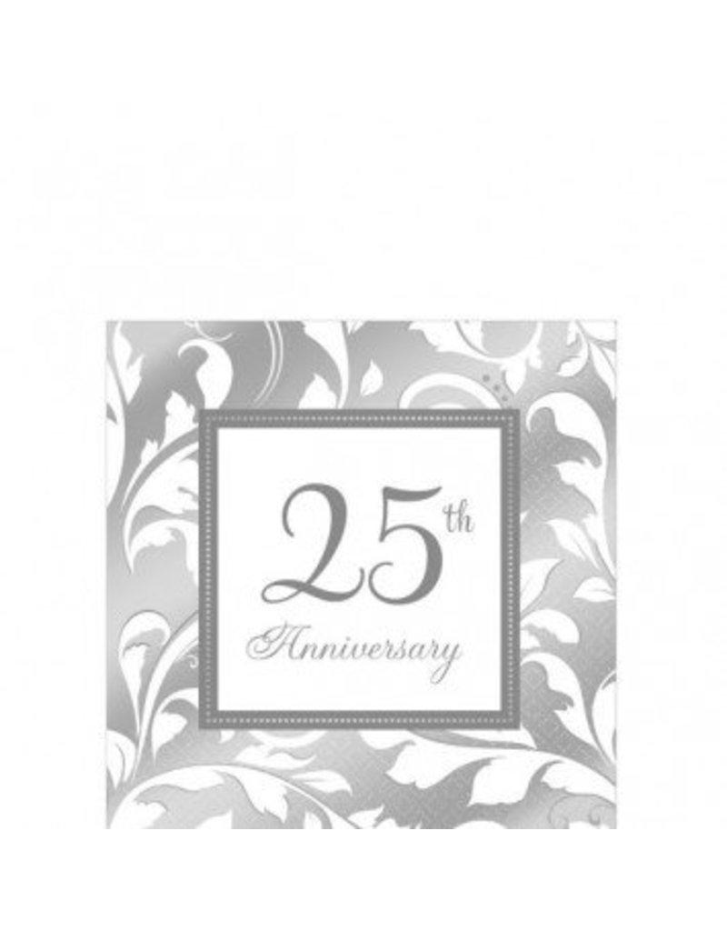 25th Anniversary Beverage Napkin (16)