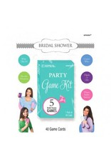Bridal Shower Party Game Kit