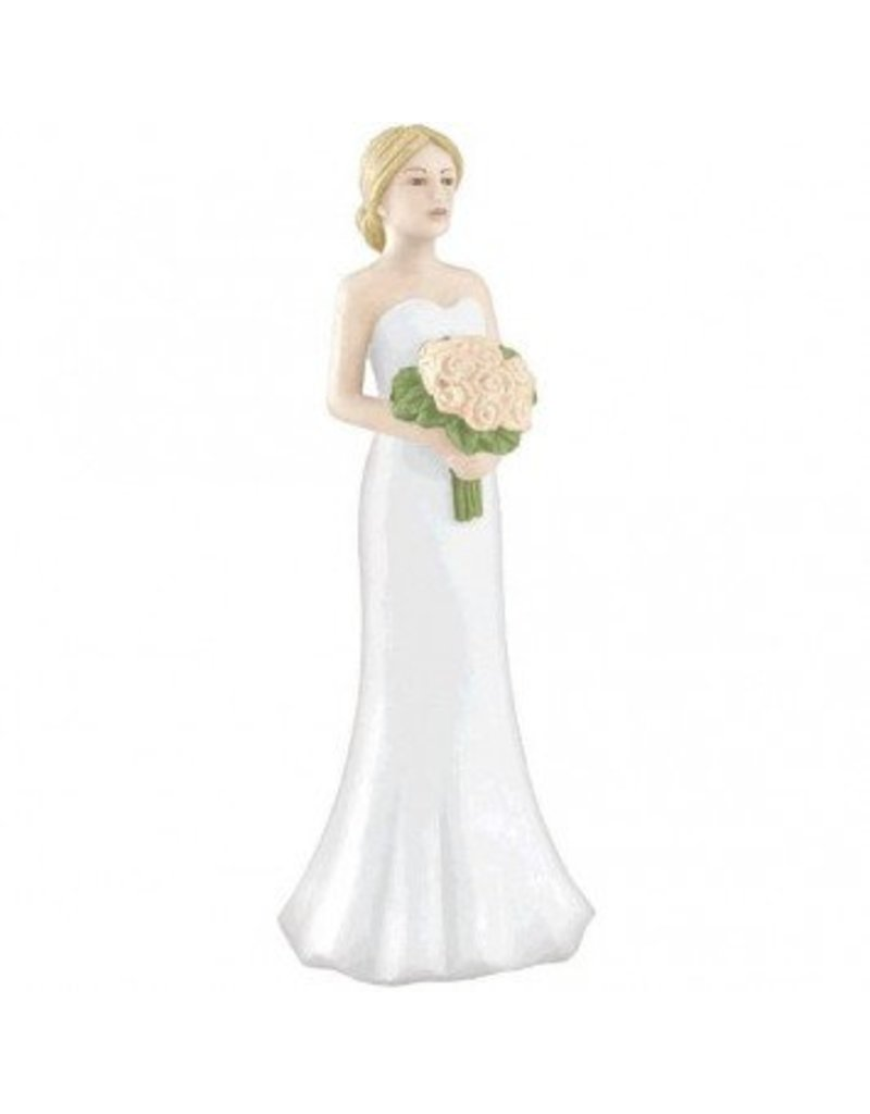 Blonde Bride Cake Topper