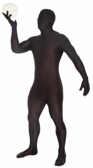Adult Costume Morphsuit Original Black Large
