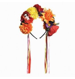 Day of the Dead Flower Headband