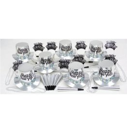 New Year Silver Regal Party Kit for 10