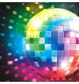Disco Fever Beverage Napkin (16)