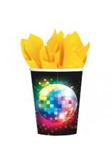 Disco Fever Paper Cups (8)