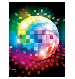 Disco Fever Plastic Tablecover