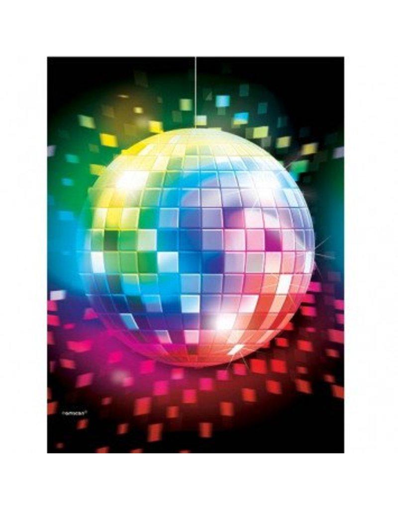 Disco Fever Plastic Tablecover