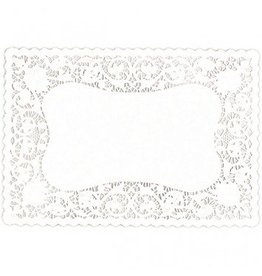 White Dollie Placemats