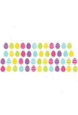 Easter Super Value Mini Glitter Packaged Paper Cutouts