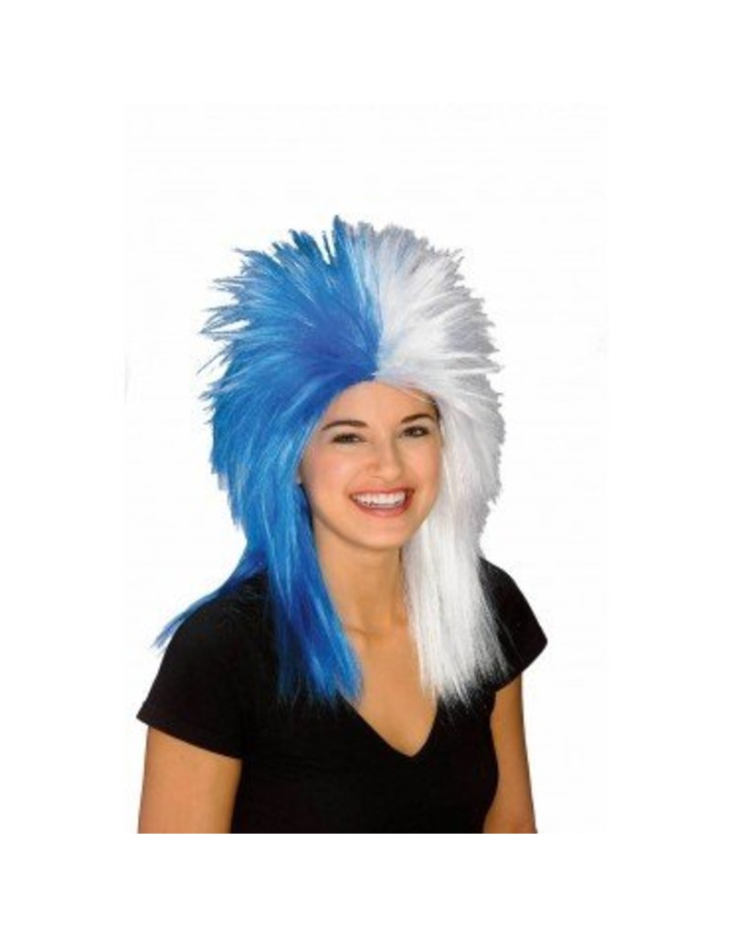 Fanatics Blue/White Wig