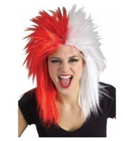 Fanatics Red/White Wig