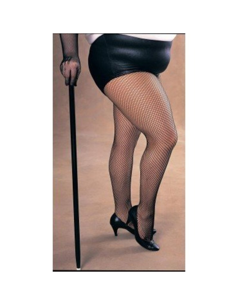 Black Fishnet Pantyhose Plus Size