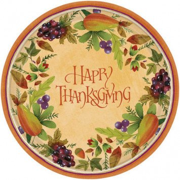 Thanksgiving Medley Dessert Plates