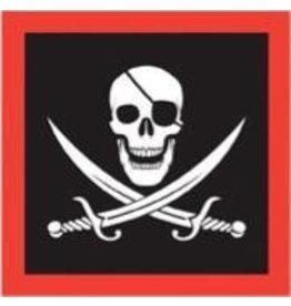 Pirate Beverage Napkins 16pk