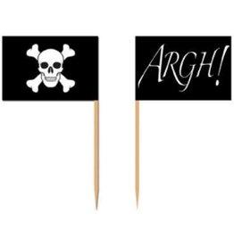 Pirate Flag Picks (50)