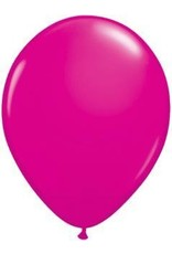 "16"" Balloon Wild Berry 1 Dozen Flat"