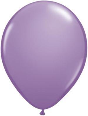 """5"""" Balloon Spring Lilac 1 Dozen Flat"""