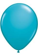 "5"" Balloon Tropical Teal 1 Dozen Flat"