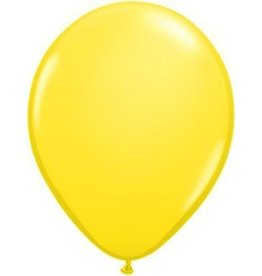 "5"" Balloon Yellow 1 Dozen Flat"