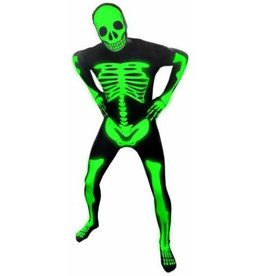 Morphsuit Premium Skeleton Glow Medium