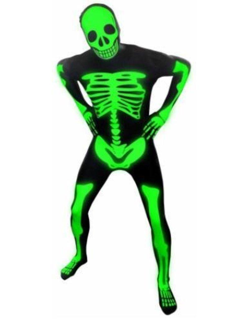 Morphsuit Premium Skeleton Glow Medium