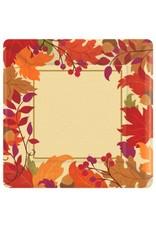 Festive Fall Square Dinner Plates