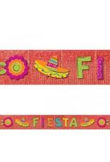 Fiesta Giant Glitter Fringe Banner