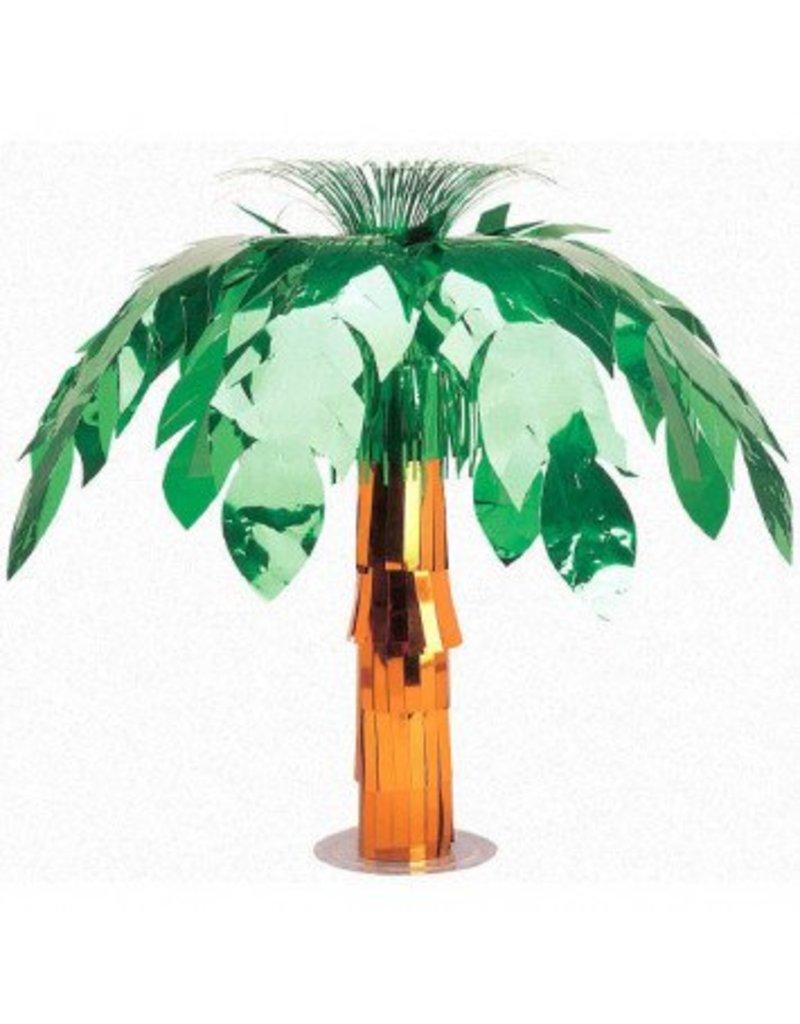 Foil Palm Tree Centerpiece