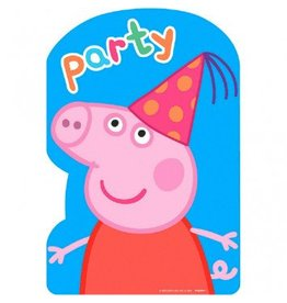 Peppa Pig™ Postcard Invitations