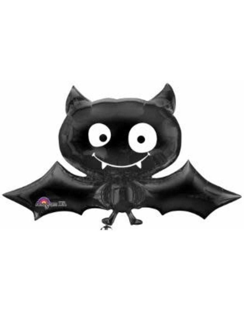 "Black Bat 41"" Mylar Balloon"