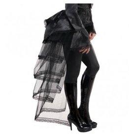 Goth Tie-on Bustle Dark Side