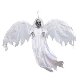 """48"""" Winged Reaper With Light-Up Eyes"""