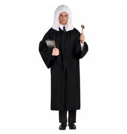 Adult Judge Robe Black Costume