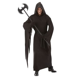 Adult Black Terror Robe Costume