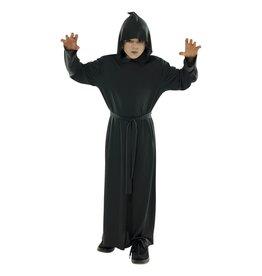 Child Hooded Black Robe Costume
