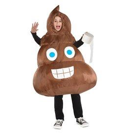 Child Inflatable Poop - Standard Costume