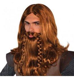 Nordic God Wig & Beard Set
