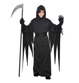 Child Black Terror Robe - Standard (8-10) Costume