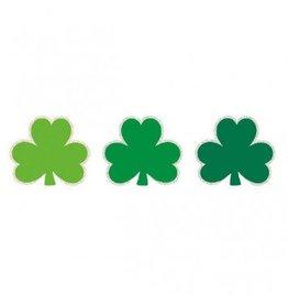 St. Patrick's Day Paper w/Glitter Super Value Pack Mini Cutouts