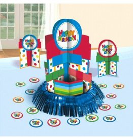 Happy Birthday Boy Table Decorating Kit
