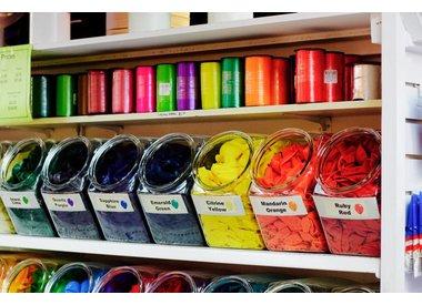 Qualatex Jewel Tone Colours (Transparent)