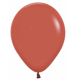 "Betallic 11"" Deluxe Terracotta Latex Balloon (Without Helium)"