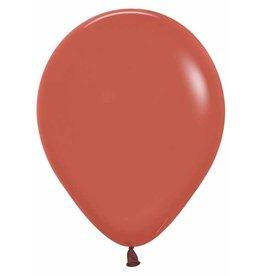 "Betallic 11"" Terracotta TUFTEX Latex Balloon (Without Helium)"