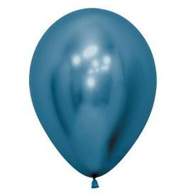 """Betallic 5"""" Chrome Blue Balloon"""