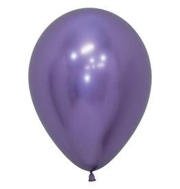 """Betallic 5"""" Chrome Violet  Balloon"""