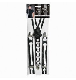 Black & Bones Suspenders