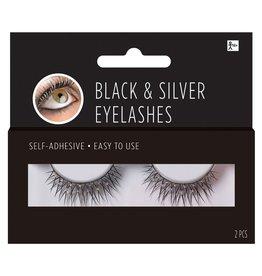 Black & Silver Eyelashes