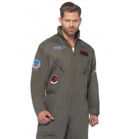 Men's Costume Top Gun Men's Flight Suit Small/Medium